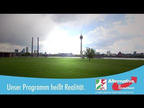 AfD NRW Wahlwerbespot 2017 - Sein Programm heißt Realität